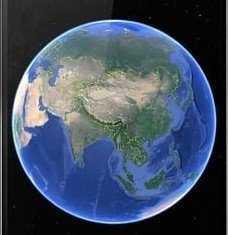 2021年卫星地图