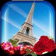 巴黎的动态壁纸