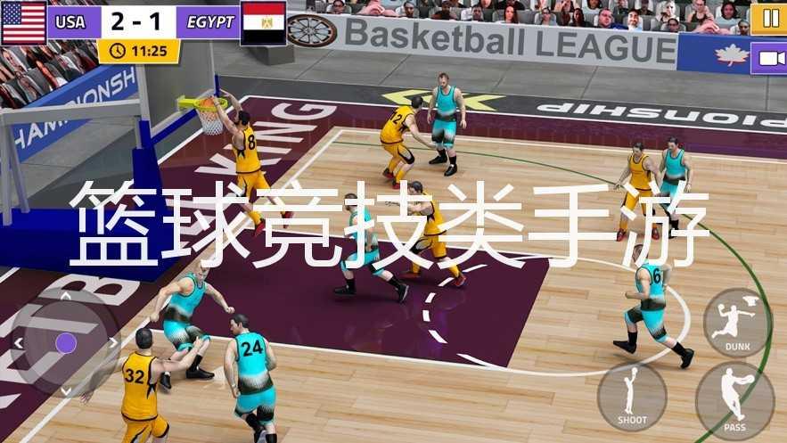 篮球竞技类手游